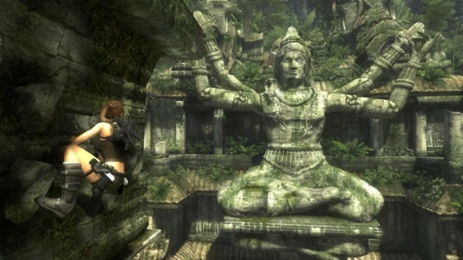 Actionspiel Tomb Raider � Underworld: Klettern © Eidos Interactive