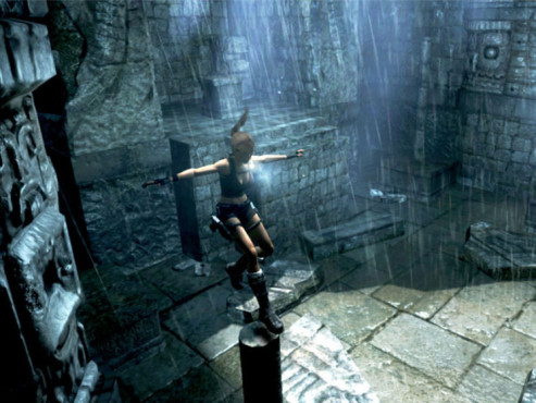 Actionspiel Tomb Raider � Underworld: S�ule © Eidos Interactive