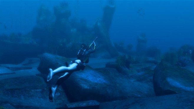 Actionspiel Tomb Raider � Underworld: Tauchen © Eidos Interactive