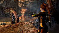 Actionspiel Tomb Raider – Underworld: Tentakel © Eidos Interactive