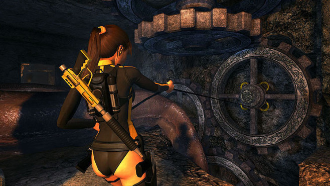 Actionspiel Tomb Raider � Underworld: Ziehen © Eidos Interactive
