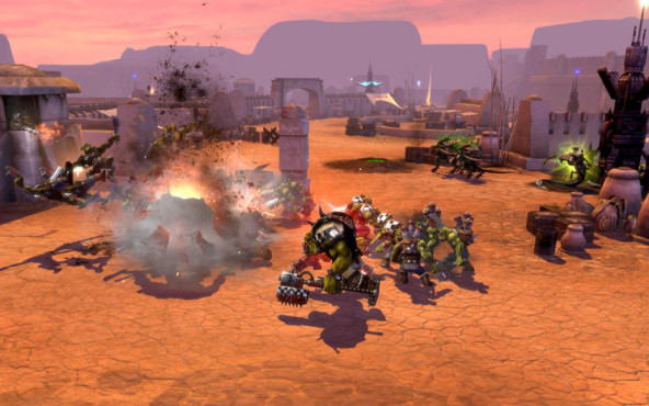 Strategiespiel Warhammer 40.000 – Dawn of War 2: Orks