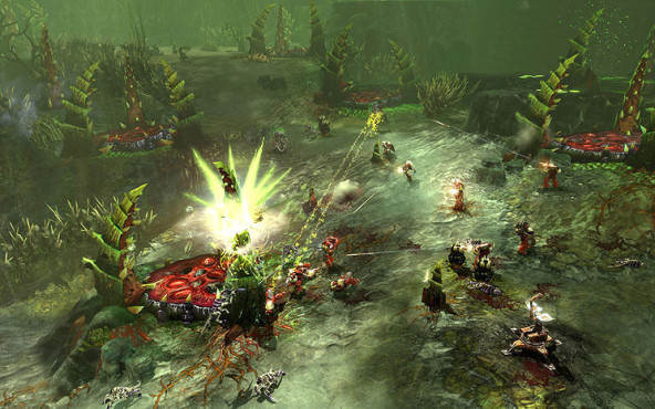 Strategiespiel Warhammer 40.000 – Dawn of War 2: Tyraniden-Basis