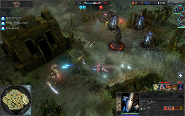 Strategiespiel Warhammer 40.000 – Dawn of War 2: Wraithlord