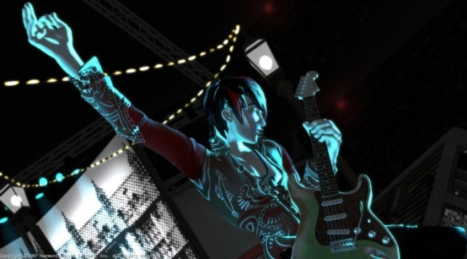 Musikspiel Rock Band: Anf�ngerlektion © Harmonix Music Systems