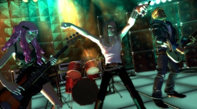 Musikspiel Rock Band: �bung © Harmonix Music Systems