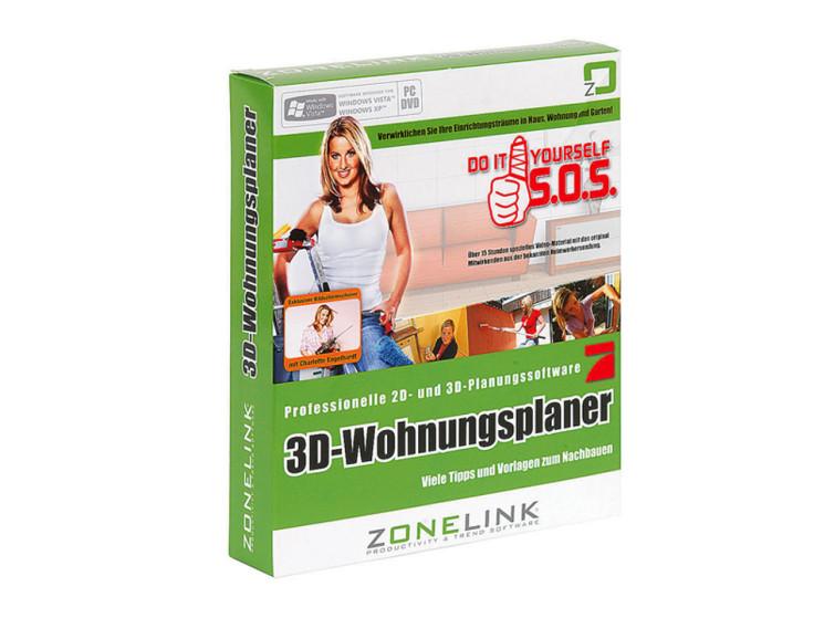 Zonelink 3d wohnungsplaner software im test computer bild for Wohnungsplaner 3d