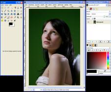 Erste Schritte mit GIMP: Benutzeroberfläche unter Windows XP