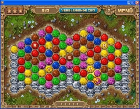 Geschicklichkeitsspiel Azteca