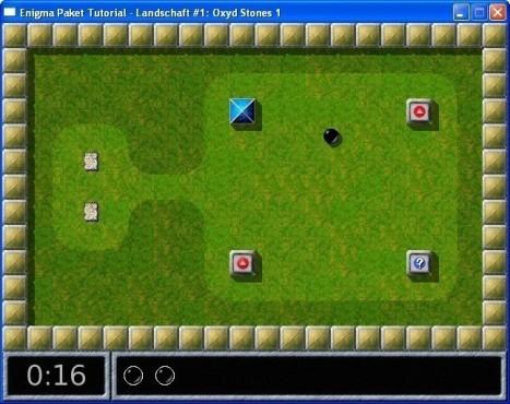 Geschicklichkeitsspiel Enigma