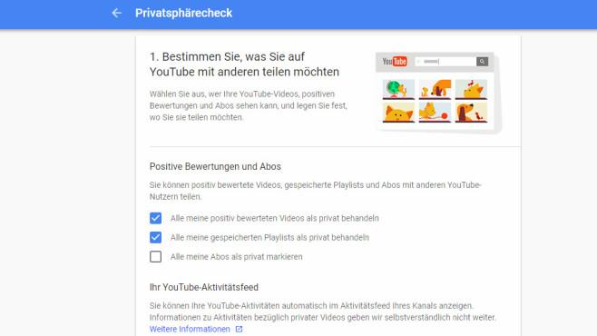 Google Privatsphärecheck: Wichtige Einstellungen prüfen ©COMPUTER BILD