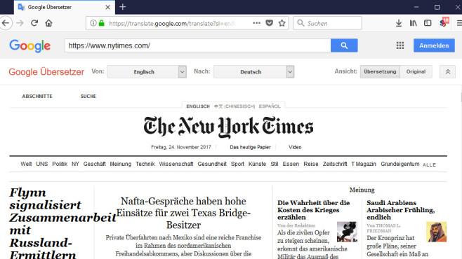 Google Übersetzer (Google Translate): Wörter, Sätze, Websites verstehen ©COMPUTER BILD