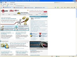 Screenshot 1 - Internet Explorer 8 (Windows XP)
