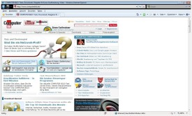 Screenshot 1 - Internet Explorer 8 (Windows Vista)