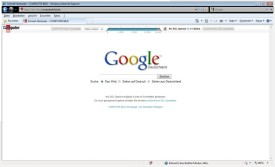 Screenshot 2 - Internet Explorer 8 (Windows Vista)