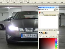 GIMP: Dialogfenster �Kan�le und Pfade� ©GIMP
