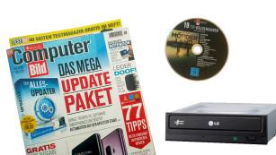 DVD-Brenner ©LG, COMPUTER BILD