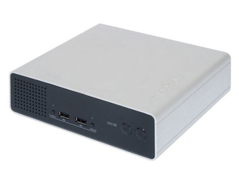 Freecom Network Drive Pro 500 GB: Externe Festplatte mit Netzwerk-Anschluss