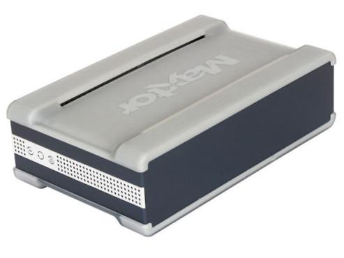 Maxtor Shared Storage II 500 GB: Externe Festplatte mit Netzwerk-Anschluss