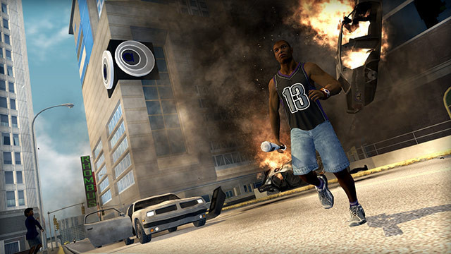 Actionspiel Saints Row 2: Explosion