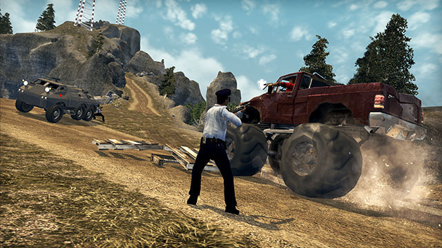 Actionspiel Saints Row 2: Monstertruck
