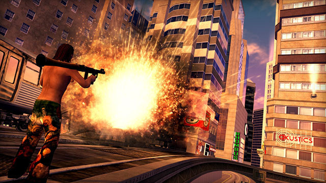 Actionspiel Saints Row 2: Raketenwerfer