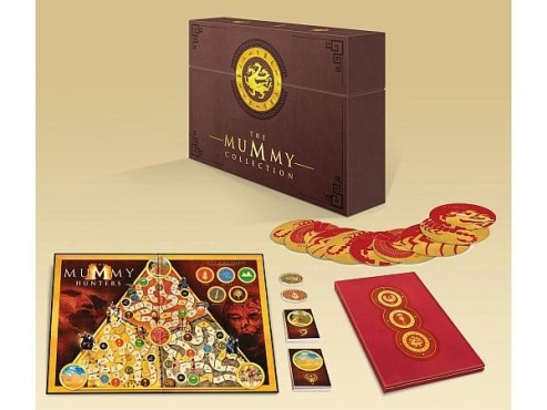 Die Mumie – Complete Collection mit Brettspiel