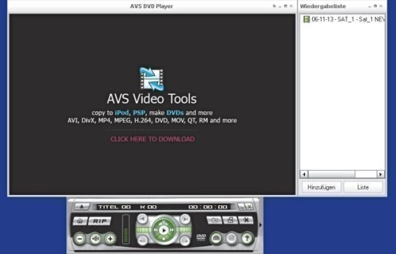 AVS DVD Player 2.4.4.133