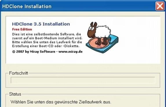 HDClone 3.5 Free Edition