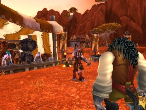 Online-Rollenspiel World of Warcraft: Bierfest
