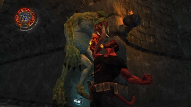 Actionspiel Hellboy – Science of Evil: Bissig © Konami