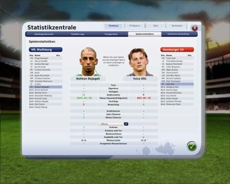 Managerspiel Fu�ball Manager 09: St�rmer