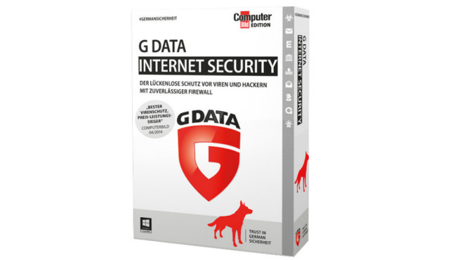 G Data Internet Security CBE © G Data, COMPUTER BILD