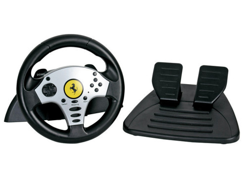 Thrustmaster Universal Challenge Racing Wheel: Lenkrad f�r PC, PS2, PS3, Gamecube und Wii