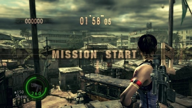 Actionspiel Resident Evil 5: Anfang