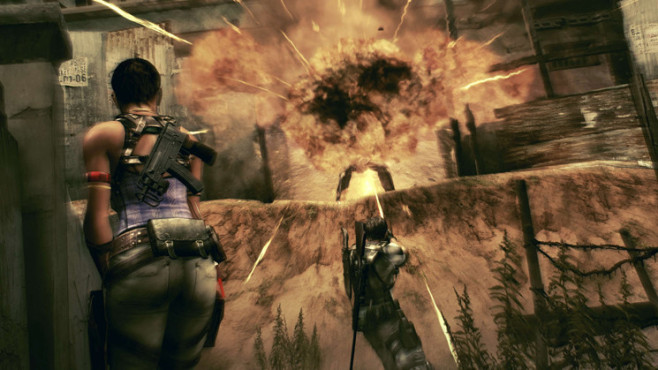 Actionspiel Resident Evil 5: Explosion