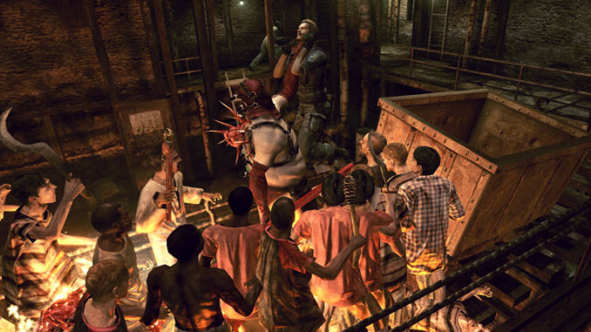 Actionspiel Resident Evil 5: Mercenaries