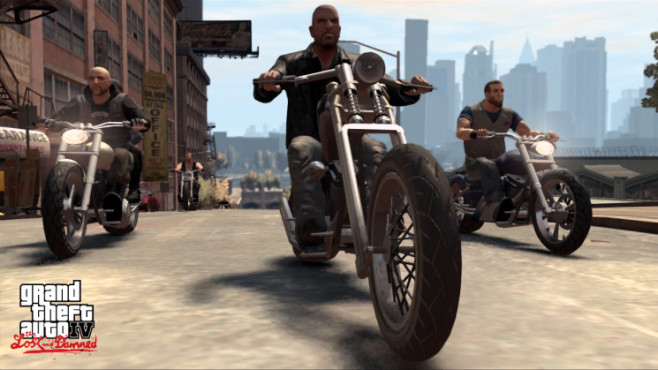 Gta 4 � The Lost and Damned: Bike © Rockstar Games