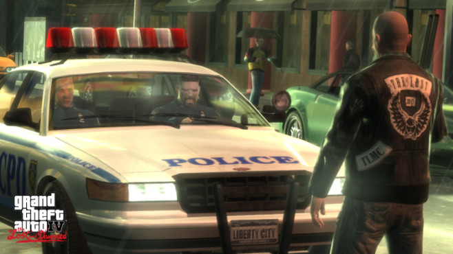 Gta 4 � The Lost and Damned: Cop © Rockstar Games