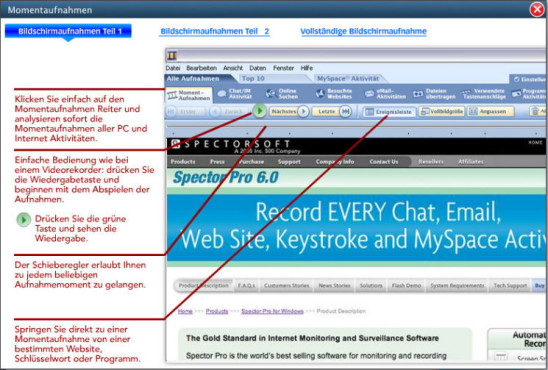 Spector Pro: Spionage-Software