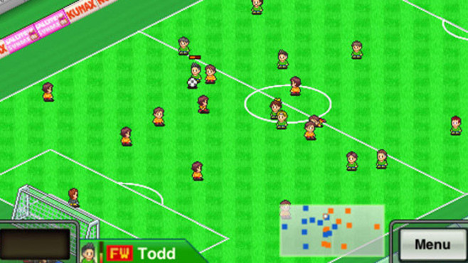 Fußballspiel Pocket League Story: Platz © Kairosoft