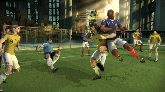 Fu�ballspiel Pure Football: Kopfball © Ubisoft