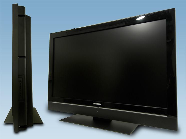 test medion md 30234 lcd fernseher bei aldi mit full hd audio video foto bild. Black Bedroom Furniture Sets. Home Design Ideas