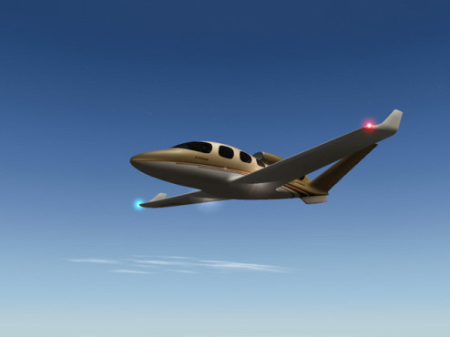 Flugsimulation X-Plane 9: Fl�gel © Laminar Research