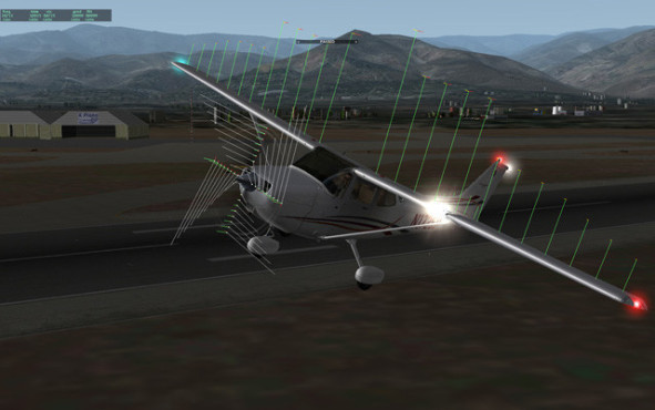 Flugsimulation X-Plane 9: Start © Laminar Research