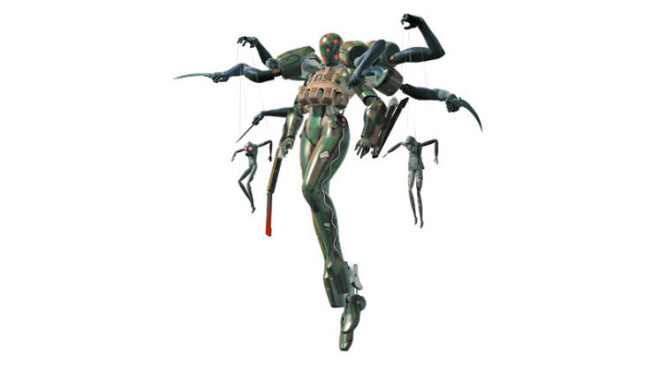 Metal Gear Solid 4 – Guns of the Patriots: Screaming Mantis © Konami