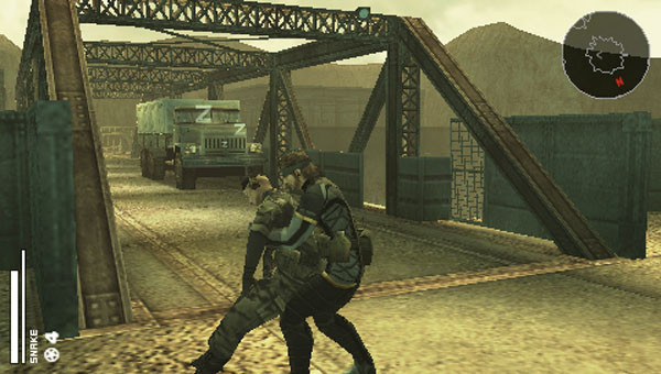 Actionspiel Metal Gear Solid: Brücke