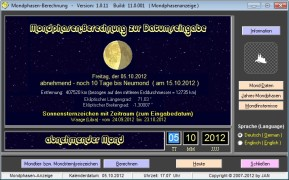 Mondphasen-Berechnung