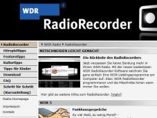 Radiorecorder Wdr