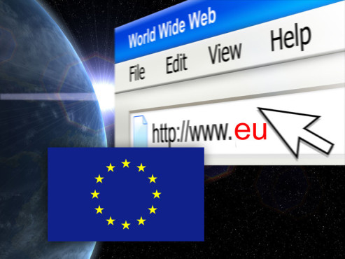 Top-Level-Domain: Europäische Union © © goce risteski, © MissMedia, © moonrun - Fotolia.com